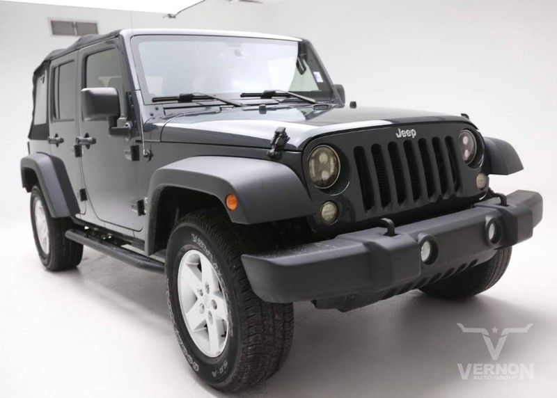 Jeep Wrangler Accessories 2017 >> Pre Owned 2017 Jeep Wrangler Unlimited Sport 4x4