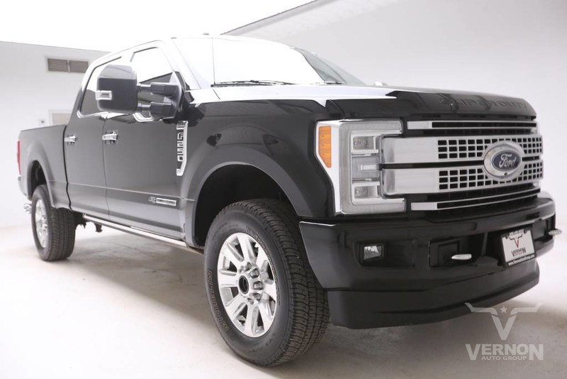Pre-Owned 2018 Ford Super Duty F-250 Platinum