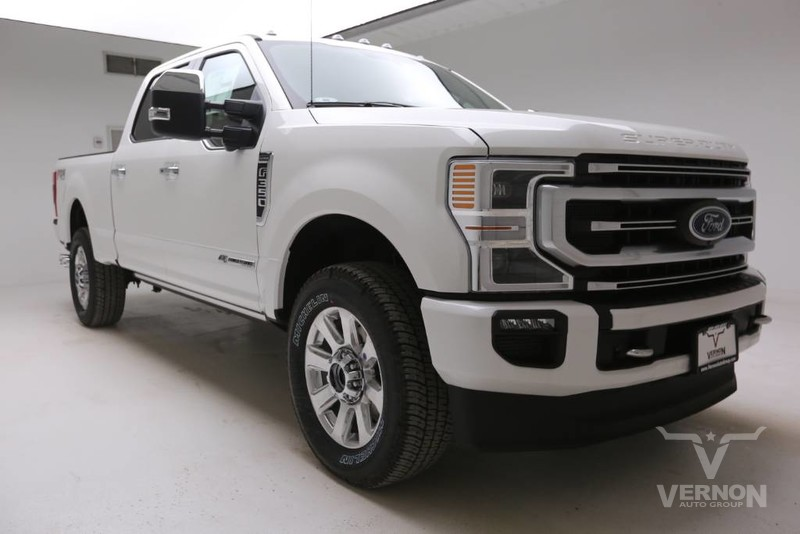 New 2020 Ford Super Duty F-350 SRW Platinum