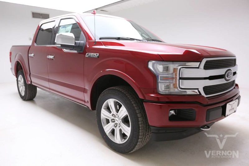 New 2019 Ford F-150 Platinum Crew Cab 4x4 Fx4