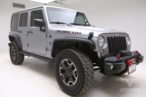 Pre-Owned 2015 Jeep Wrangler Unlimited 4WD 4dr Rubicon Hard Rock