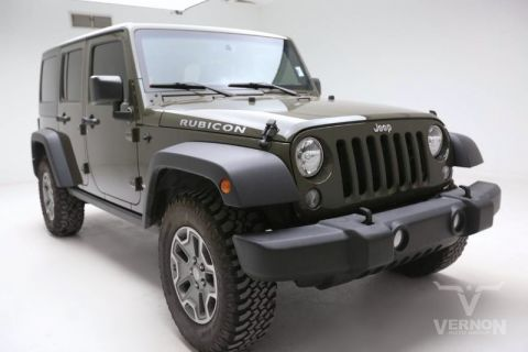 Pre-Owned 2015 Jeep Wrangler Unlimited Rubicon 4x4