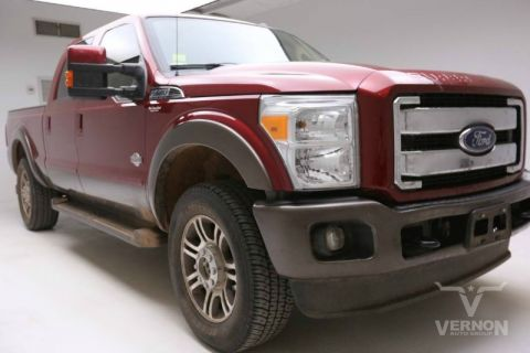 Pre-Owned 2015 Ford Super Duty F-250 King Ranch Crew Cab 4x4 Fx4