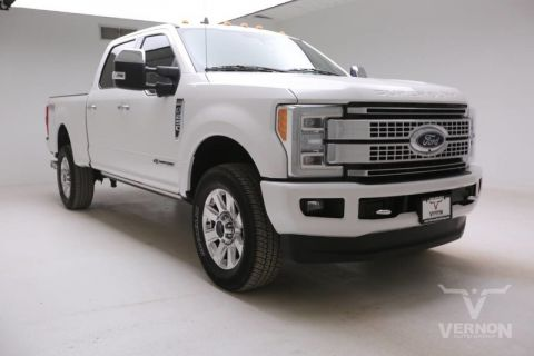 Pre-Owned 2019 Ford Super Duty F-250 Platinum Crew Cab 4x4 Fx4