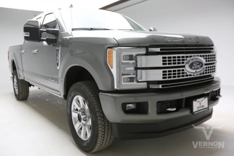 New 2019 Ford Super Duty F-350 SRW Platinum Crew Cab 4x4 Fx4
