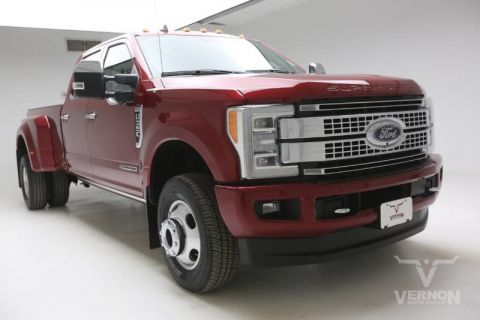 New 2019 Ford Super Duty F-350 DRW Platinum Crew Cab 4x4