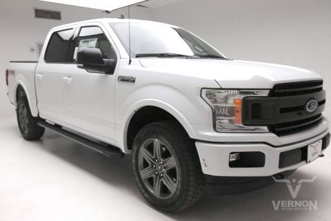 New 2020 Ford F-150 XLT Texas Edition Crew Cab 4x4 Fx4