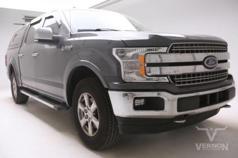 Pre-Owned 2018 Ford F-150 Lariat Crew Cab 4x4 Fx4