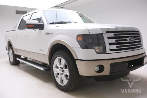 Pre-Owned 2013 Ford F-150 Lariat Crew Cab 2WD