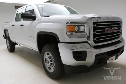 New 2019 GMC Sierra 2500HD Work Truck Crew Cab 4x4