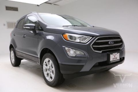 New 2020 Ford EcoSport SE 4x4