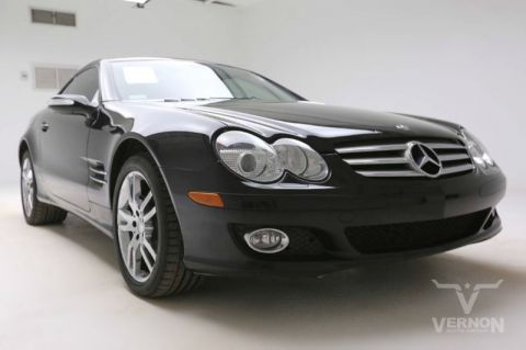 Pre-Owned 2008 Mercedes Benz SL-Class Roadster Coupe RWD
